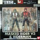 SIC18仮面ライダーV3&ライダーマン []